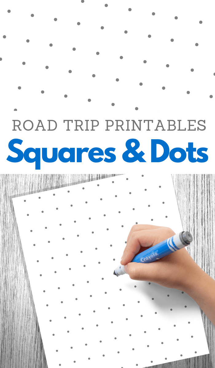 dot to do square game printable