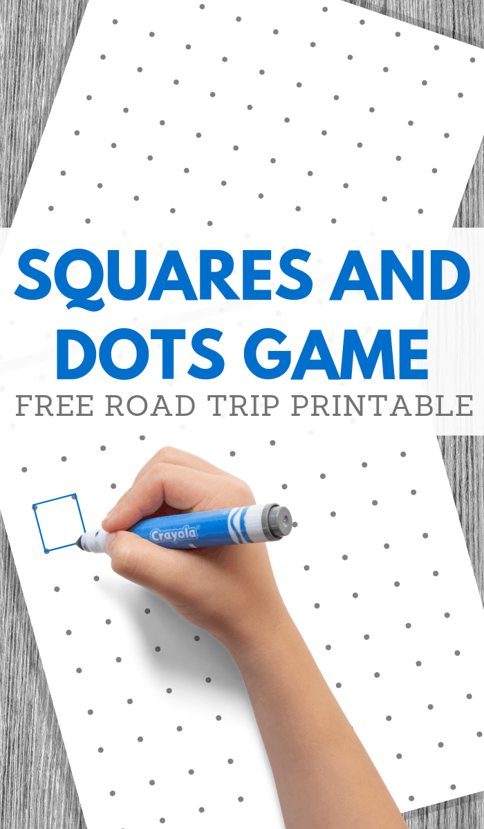 dot square game printable