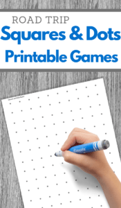 dots and squares game printable