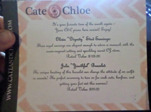 Cate & Chloe VIP Package