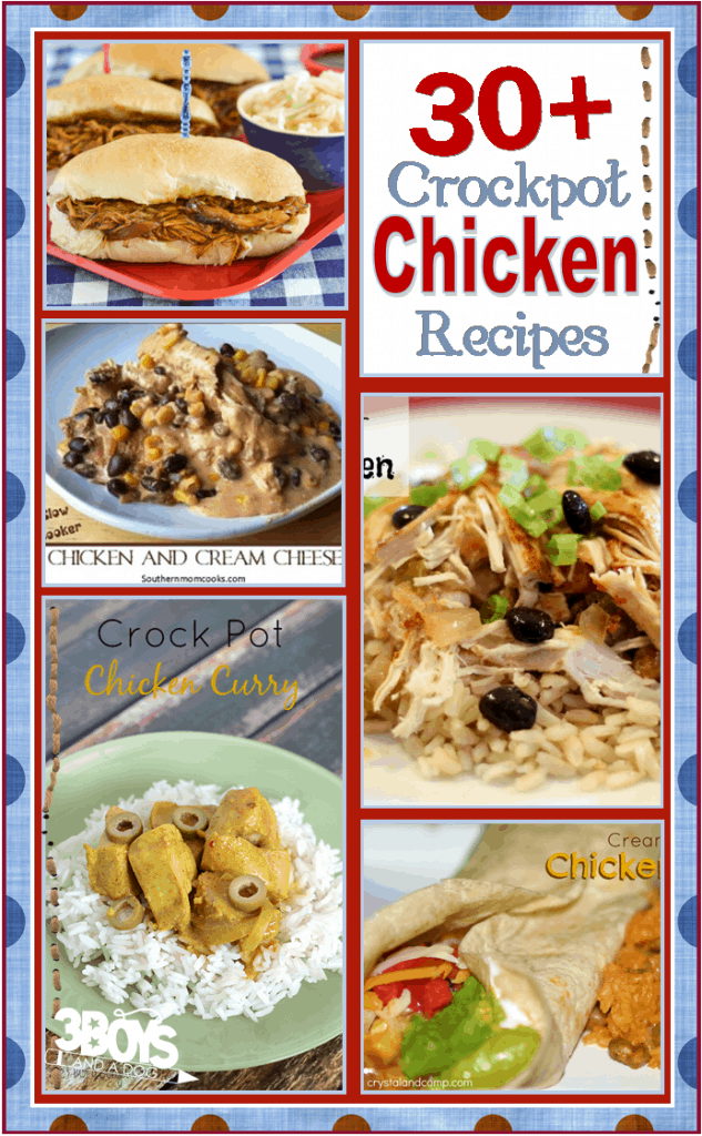 Crockpot Recipes for Chicken