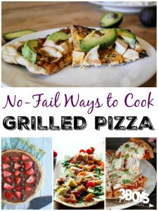 Grilled Pizza Recipes