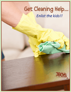 How to Get Kids to Help You Clean