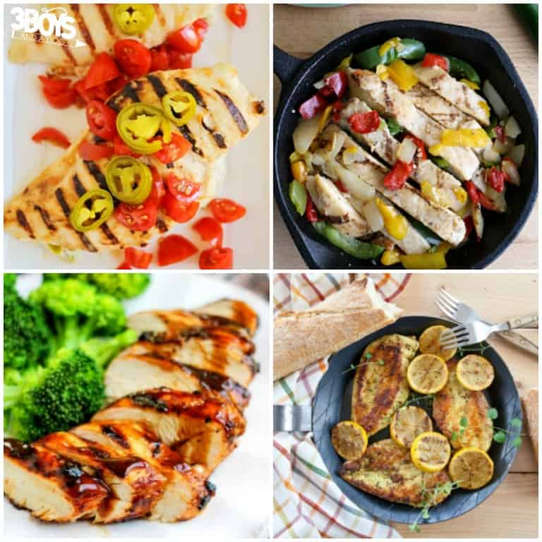 More Than 30 Healthy Grilled Chicken Recipes to Try - 3 Boys and a Dog