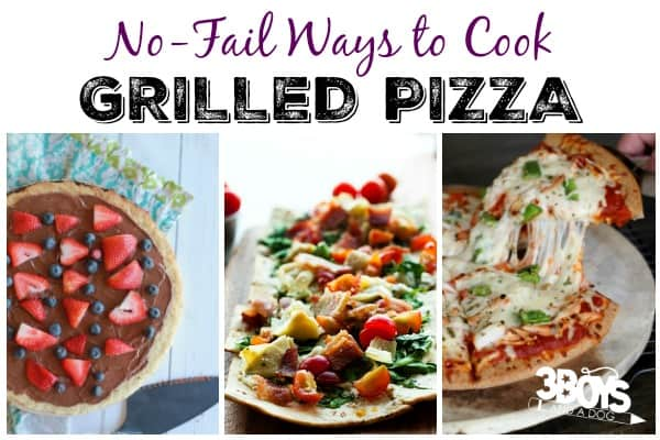 No-Fail Grilled Pizza Recipes