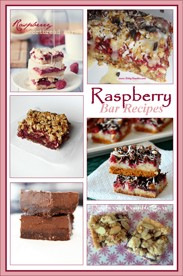 Raspberry Bar Recipes