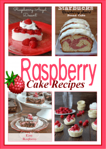 Raspberry Cake Recipes