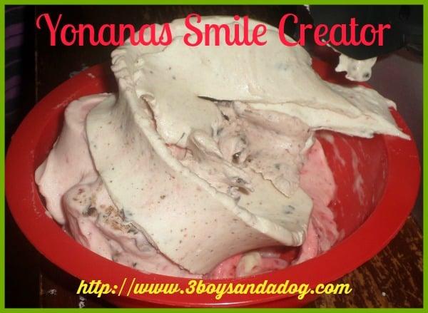 Yonanas frozen foods for Kids maker