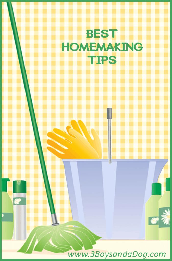 best homemaking tips