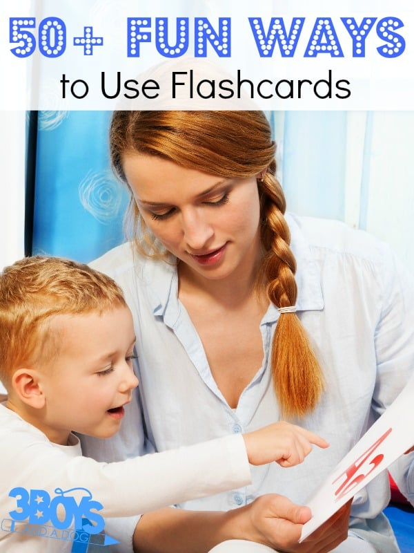 50+ Fun Ways to Use Flashcards