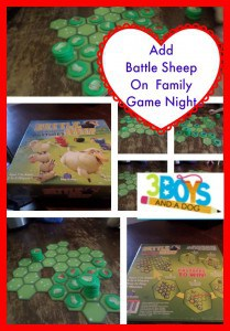 Add Battle Sheep on Family Night