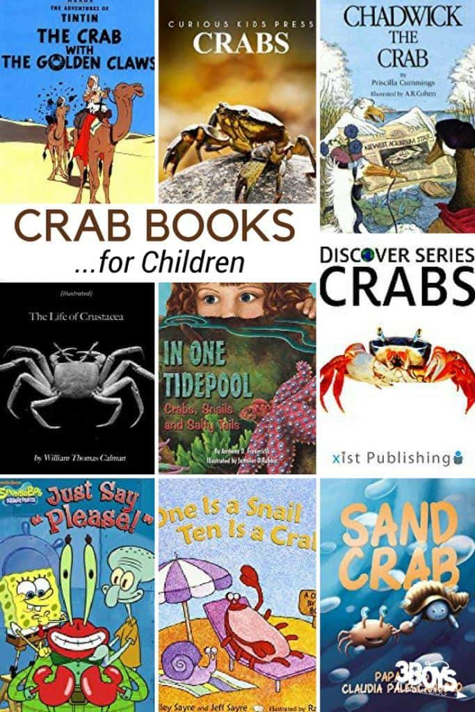 Crab Books for Kids