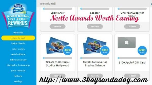 real rewards at nestlé