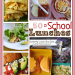 Over 50 Back to School Lunches {perfect lunchbox recipes}
