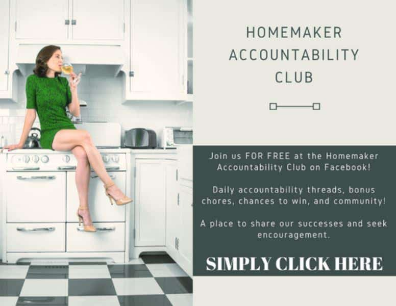join the homemaker accountability club