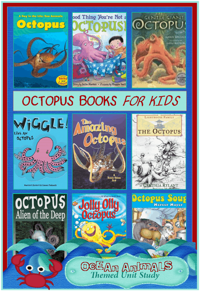 octopus books for kids