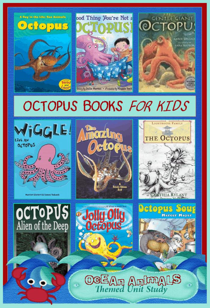 Octopus books for kids ocean animals unit study 3 boys for Children s fish book