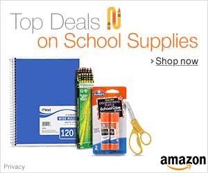 Amazon Back to School Savings