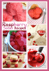 7 Raspberry Sorbet Recipes