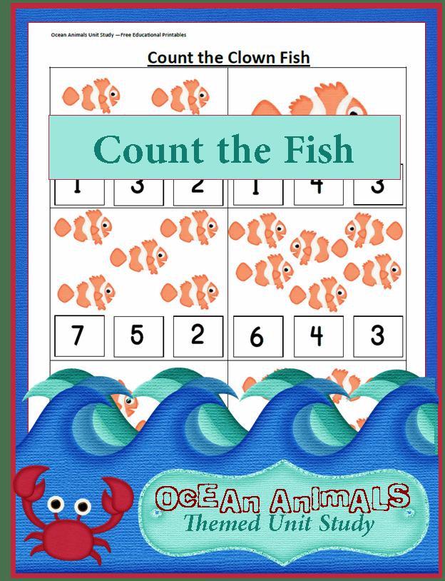Ocean Animals Unit Study