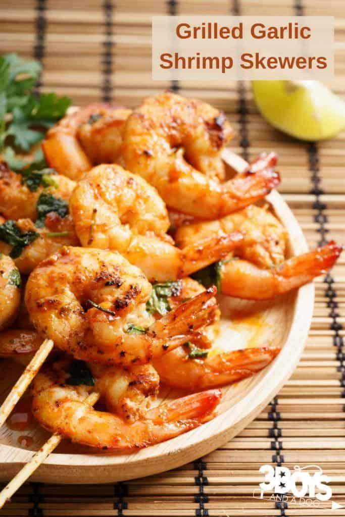 Grilled Garlic Shrimp Recipe Easy