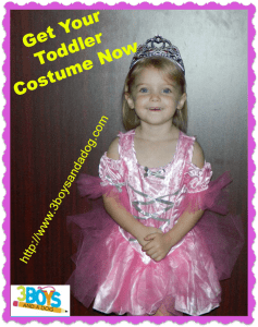 Get Your Toddler Costume Now