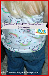GoodNites* TRU-FIT* Gives Confidence and Protection