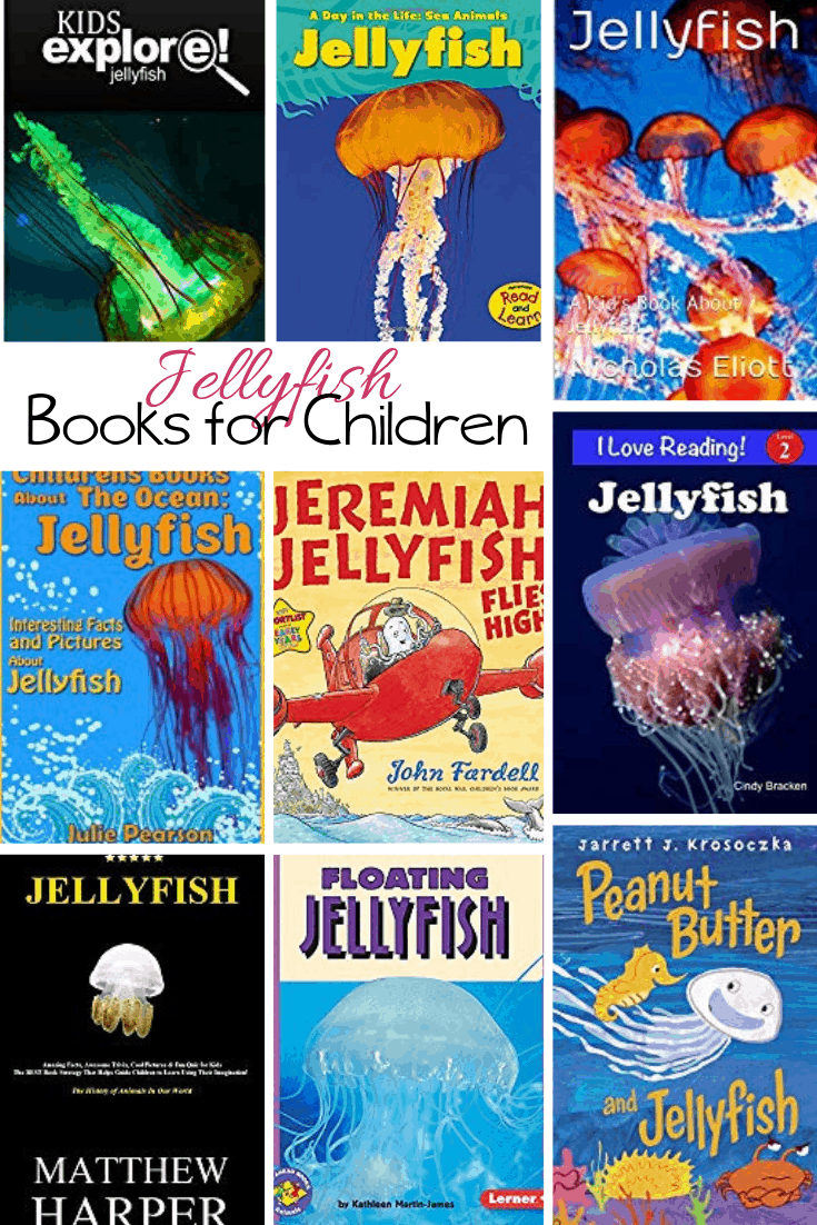 children's books about jellyfish