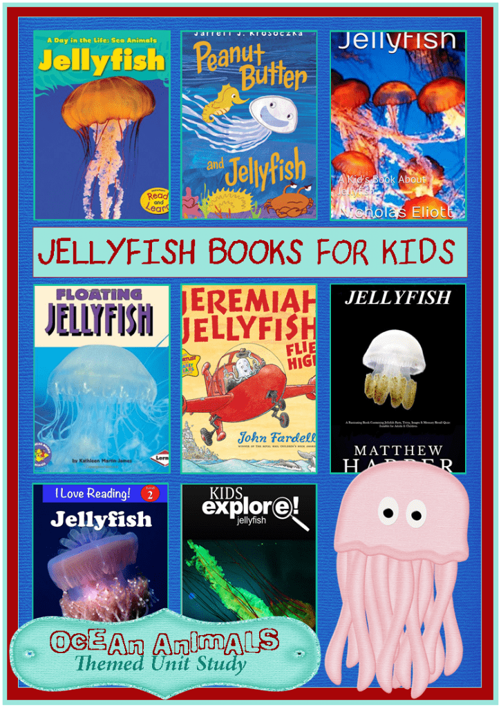 preschool books about the ocean jellyfish books for animals unit study 3 155