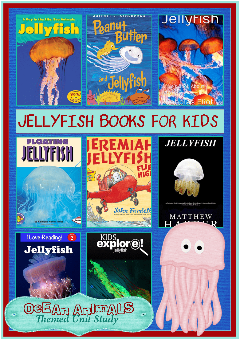 Jellyfish Books for Ki...