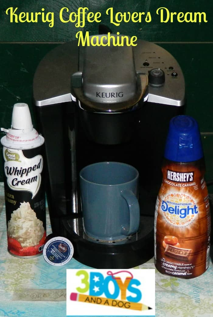 Keurig Coffee Lovers Dream Machine