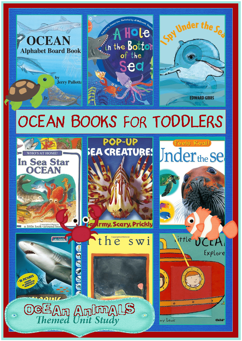 Ocean books for toddlers ocean animals unit study 3 for Children s fish book