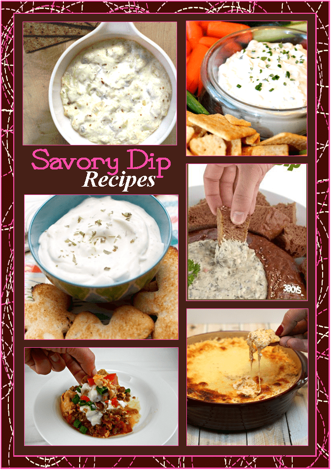 Savory Dip Recipes