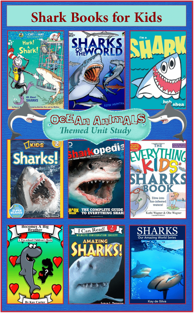 shark week books