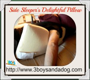 Side Sleeper's Delightful Pillow