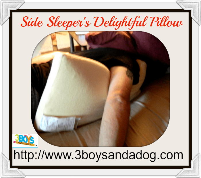 Side Sleeper's Delightful Pillow