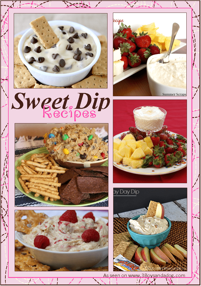 Sweet Dip Recipes