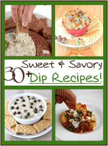 Over 30 Sweet and Savory Popular Dip Recipes