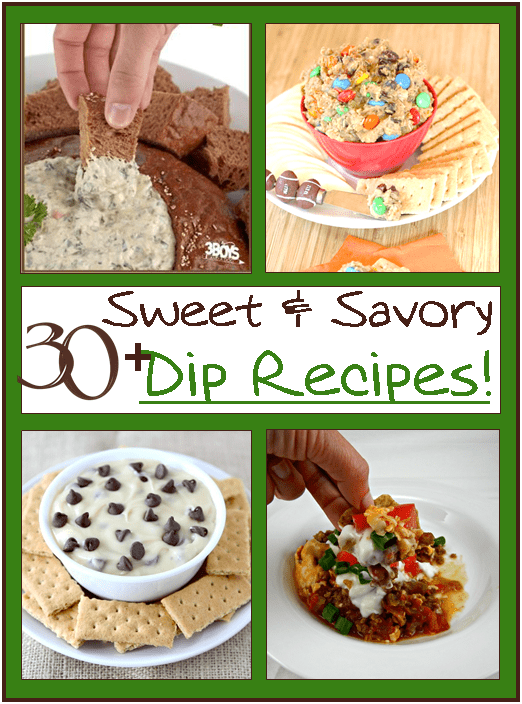 Sweet and Savory Dip Recipes
