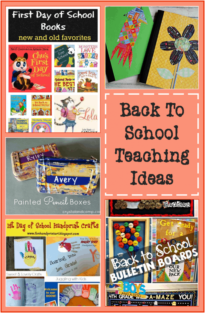 back to school teaching ideas