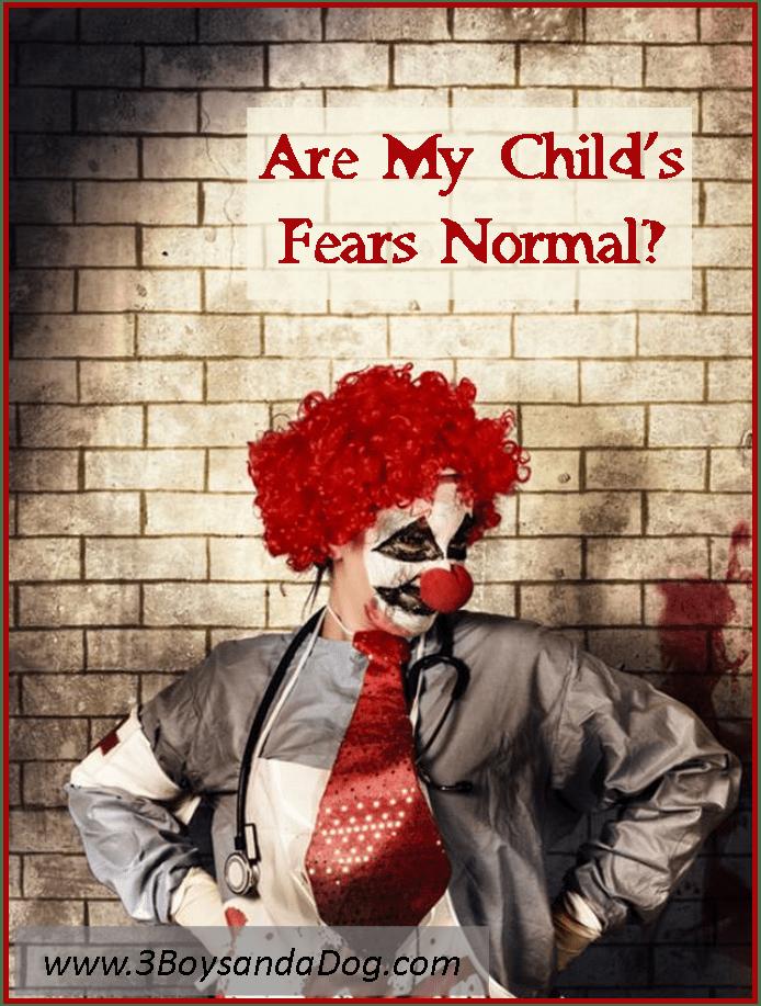 clown fears