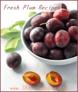 seasonal fruit recipe