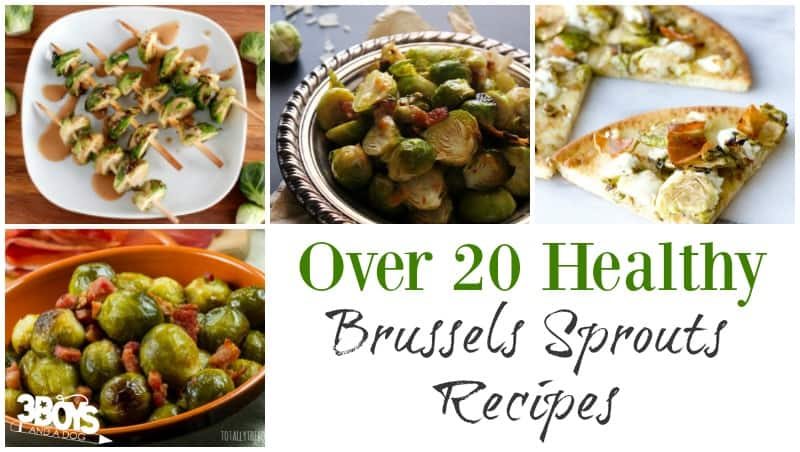 20 Healthy Brussels Sprouts Recipes