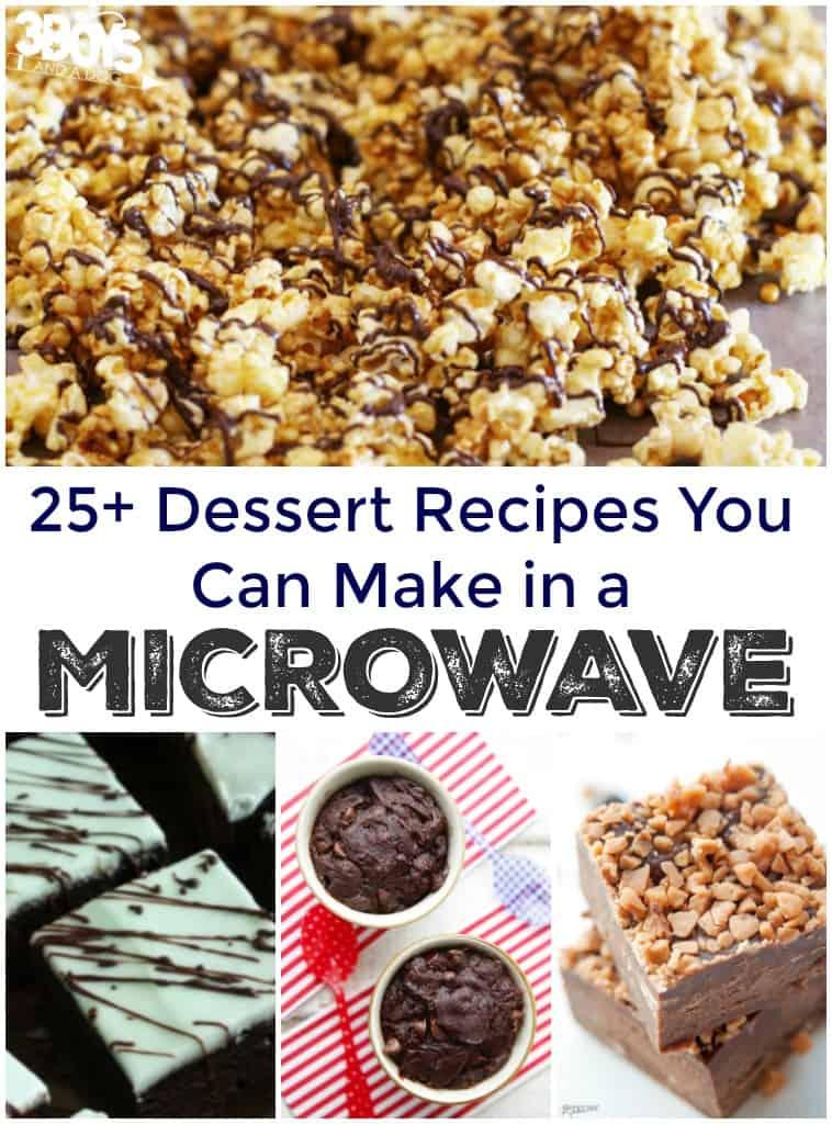 25+ Microwave Dessert Recipes