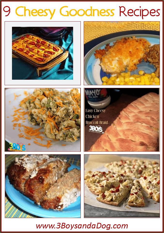 Cheesy Goodness Recipes