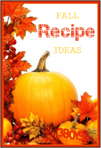 easy autumn recipes