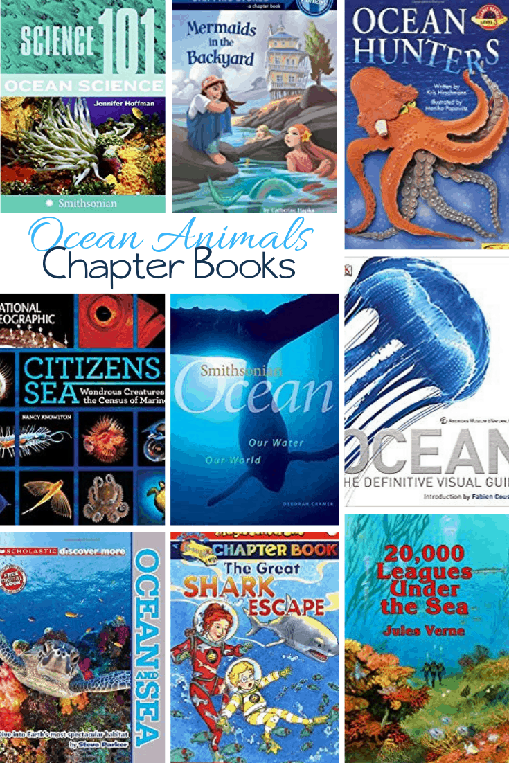 Ocean chapter books for kids