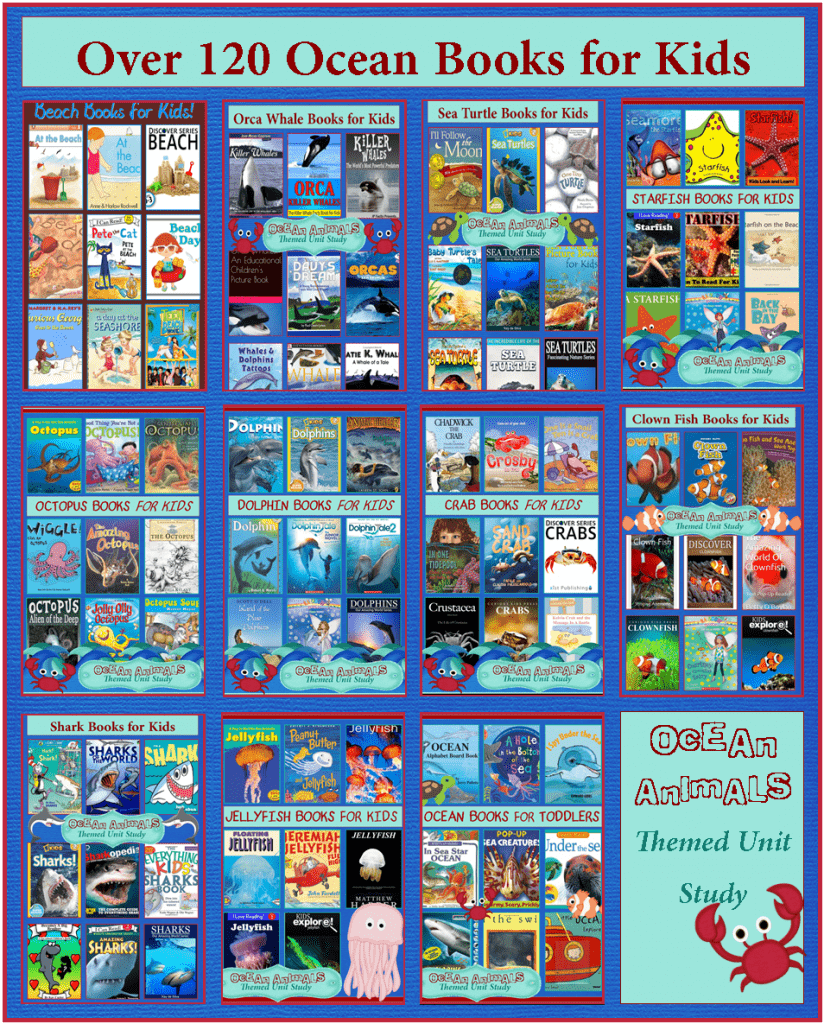 Over 120 Ocean Books for Kids