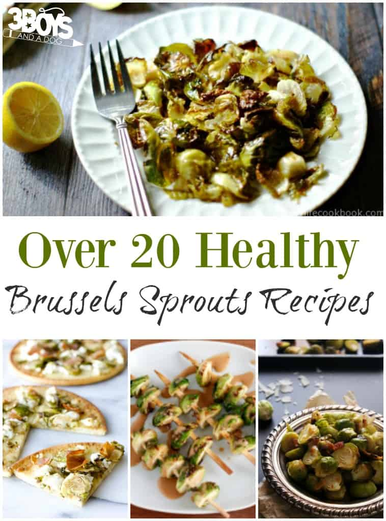 Over 20 Healthy Brussels Sprouts Recipes
