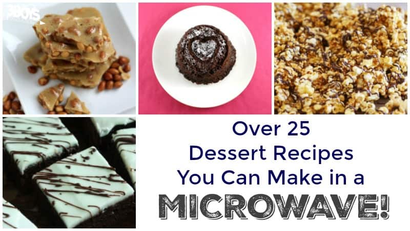 Over 25 Microwave Dessert Recipes